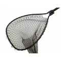 "Night Striker Black Boat Net Bow Size: 15½"" x 19¼"" Handle Length: 24"" Net Depth: 30"""