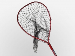 Red Octagonal Multi Species Landing Net